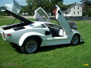 Pontiac Fiero Kit 1985 Pontiac Fiero Lamborghini Kit Car In White Photo 2