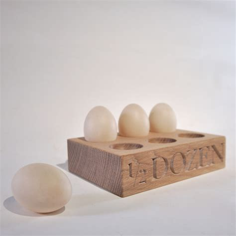 Egg Rack by White 6 Egg Rack Egg Racks The Oak Rope Company