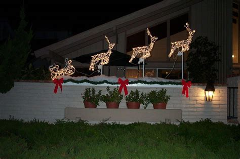 homemade outdoor christmas decorations cute outdoor