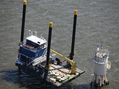 boat lift barge custom lift barge