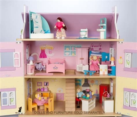 lavender dolls house le toy van doll house lavender entropy