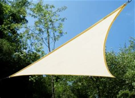 Triangular Awning by 3 6m White Triangle Sun Shade Sail Canopy Garden Patio