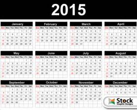 Free Downloadable 2015 Calendar Template by 2015 Calendar Template Vector Free 123freevectors