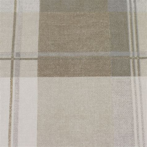 Tartan Plaid Curtains Highland Tartan Lined Eyelet Curtains Pair With Plaid Check Pattern Ready Made