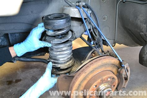 how to change front struts on a 1986 maserati quattroporte mercedes benz w124 front strut and spring replacement