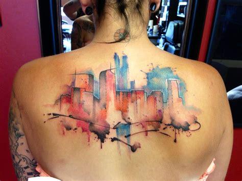 denver skyline tattoo justin nordine artist