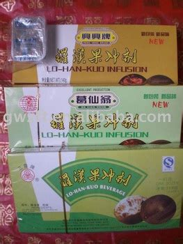 Lo Han Kuo Infusion 12x14g lo han kuo infusion compressed beverage buy