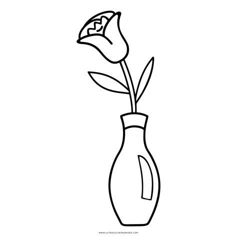 vaso di fiori da colorare vaso di fiori disegni da colorare ultra coloring pages con