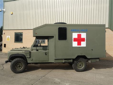 land rover defender ambulance for sale land rover 130 defender wolf rhd ambulance ex for