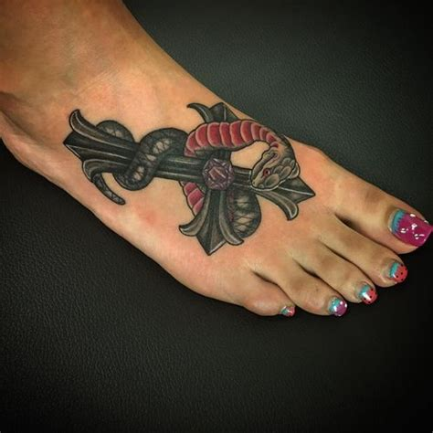 cross and snake tattoo 50 snake tattoos for 2018