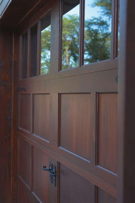 Wood And Wood Garage Doors What S New In Garage Door Designs And Materials