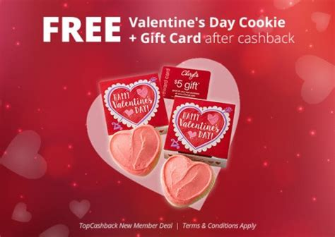 free cheryl s valentine s day cookie gift card after