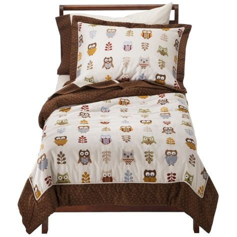 target kids comforters sweet jojo designs night owl 5 pc toddler beddi target