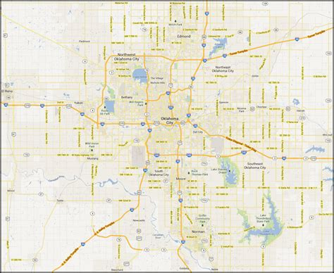 oklahoma city map plumbers oklahoma city coverage area plumbers in oklahoma city