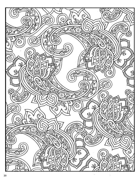 coloring pages for adults paisley 17 best images about colouring pages on dovers