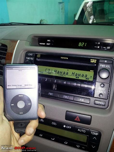 Can I Put An Aux Port In Car by Diy How To Remove Stock Stereo Of Toyota Fortuner