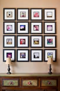 wall frames ideas how to easily create a photo frame collage wall display