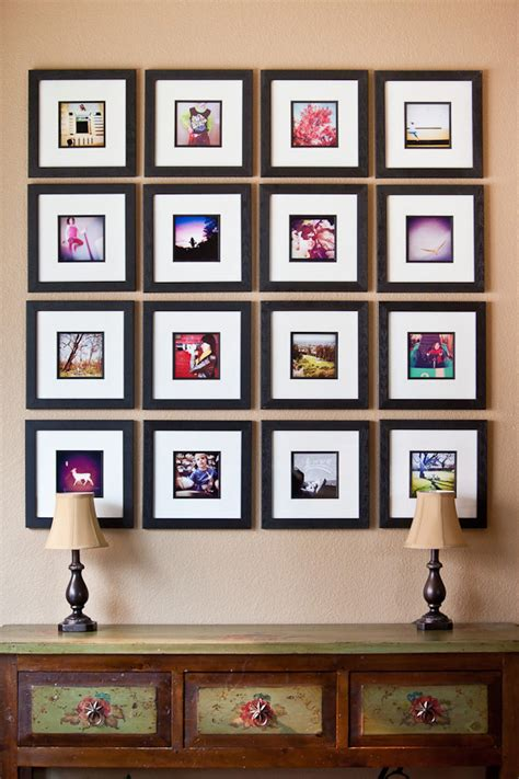 picture frame wall display how to easily create a photo frame collage wall display