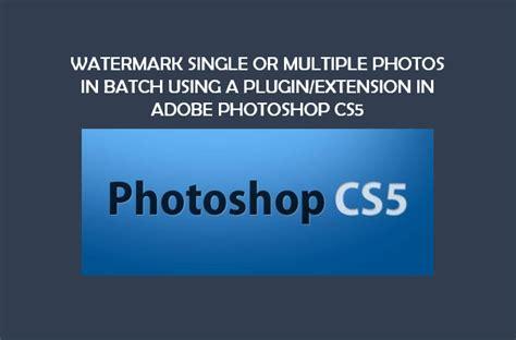 Batch Watermark Photoshop