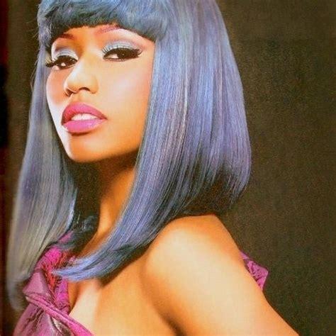 Nicki Minaj Bob Hairstyle by Nicki Minaj Grey Bob Hairstyle Top