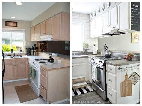 small kitchen makeover home makeover ideas 25 diy projects to update your home