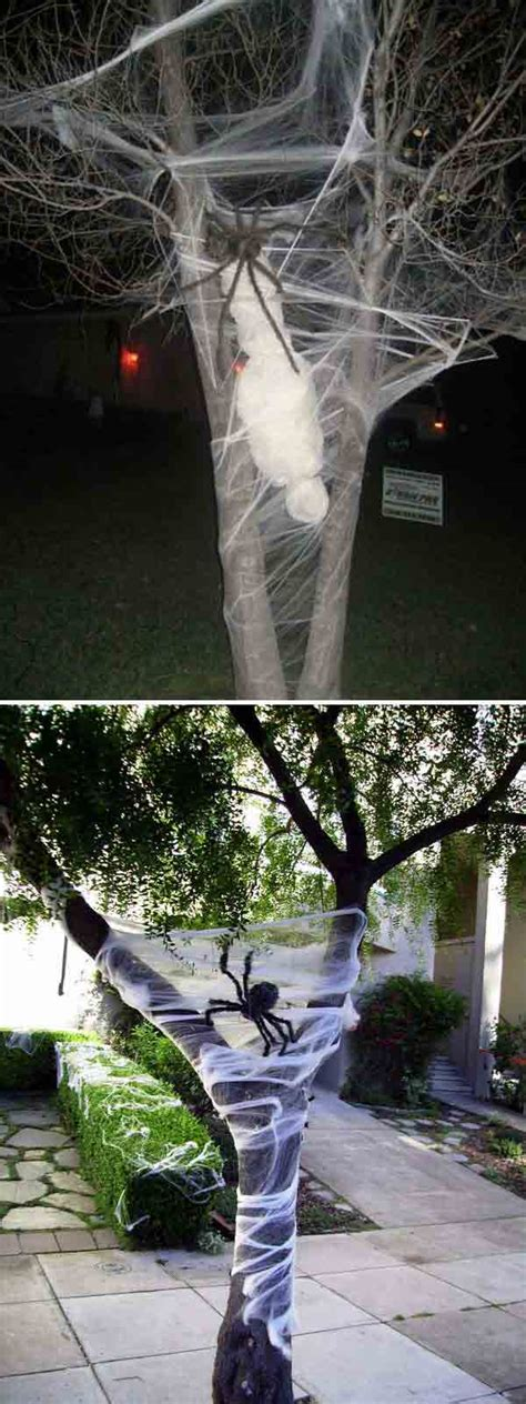 outdoor tree decorations top 21 creepy ideas to decorate outdoor trees for