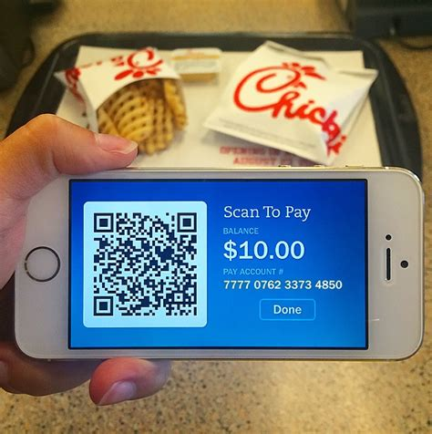How To Check Chick Fil A Gift Card Balance - chick fil a goes qr code mobile pymnts com