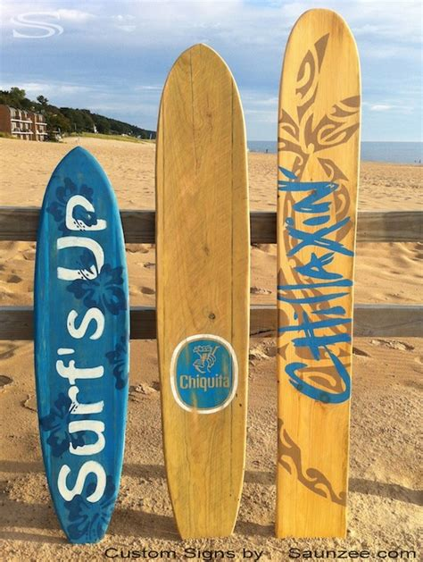 Surf Signs Decor by Saunzee Signs Vintage Signs
