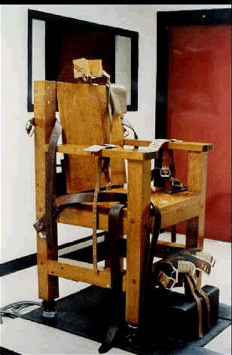 Chaise Electrique Execution by Electric Chair Pics