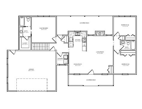 Small Cottage Plan by Ranch House Plan Building The Ranch House Plans With