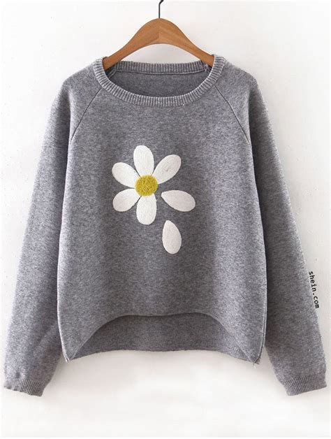Sweater Grey Flower 153 best upcycling clothes images on sewing ideas sewing projects and crafts
