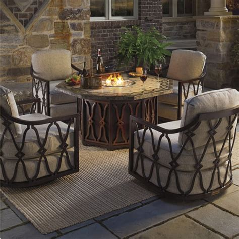 patio furniture pit set black sands pit set