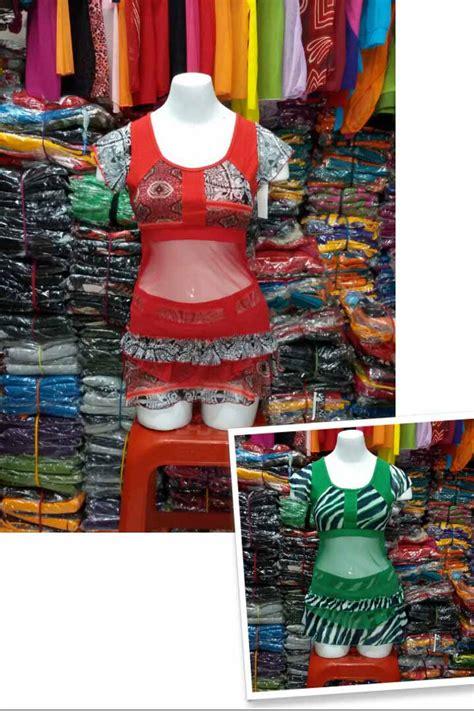 Baju Senam Jaring Merah harga baju senam wanita murah bahan jaring tile baju