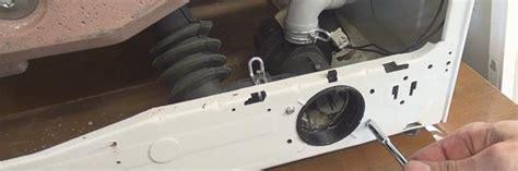 bauknecht waschmaschine pumpt nicht ab pumpe wechseln