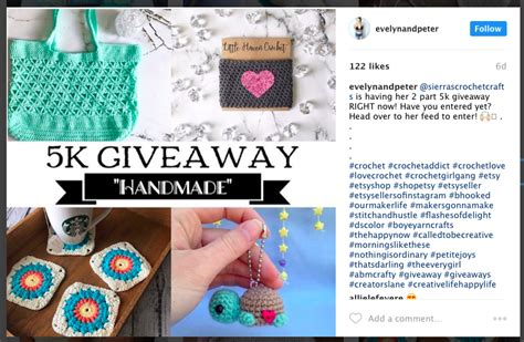 How To Do A Instagram Giveaway - how to rock your etsy instagram contest the savvy etsy marketer