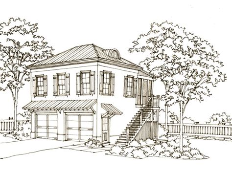 Carriage House Plans Southern Living House And Home Design