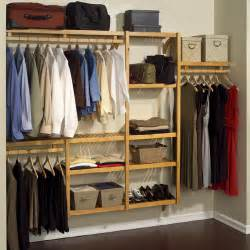 Closet System Lowes by Louis Home Wood Hanging Closet Organizer System From