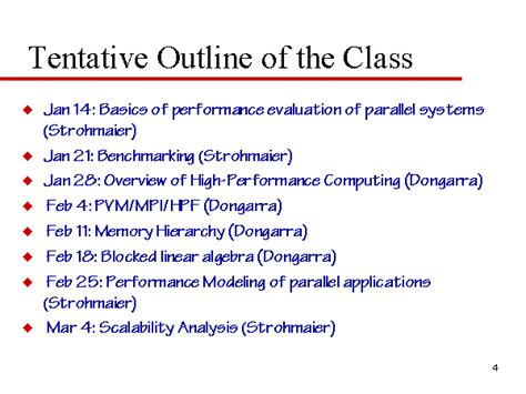 What Is A Outline by Tentative Outline Of The Class