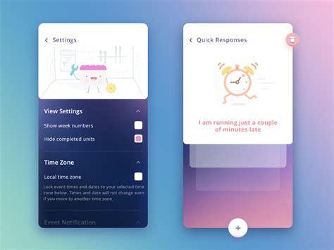 design app price settings quick responses ncalendar app by prakhar neel