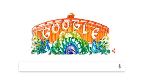 indian independence doodle celebrates india s 70 years of independence day