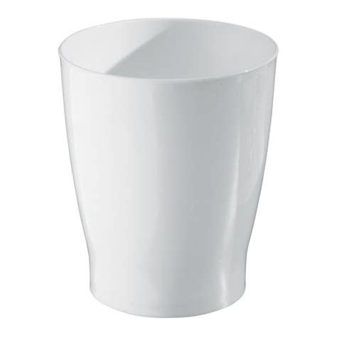 Bathroom Trash Can Ebay White Plastic Wastebasket Bathroom Modern Home Trash Can