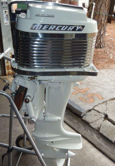 outboard motors for sale hobart mercury merc 350 40 hp antique vintage outboard for sale