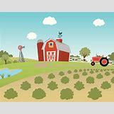 Cartoon Farm Scene | 612 x 480 jpeg 36kB