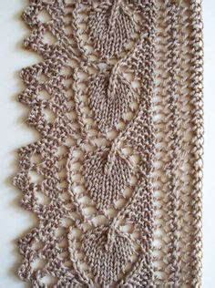 leaf edging knitting pattern 1000 images about knitting edgings borders selvedges