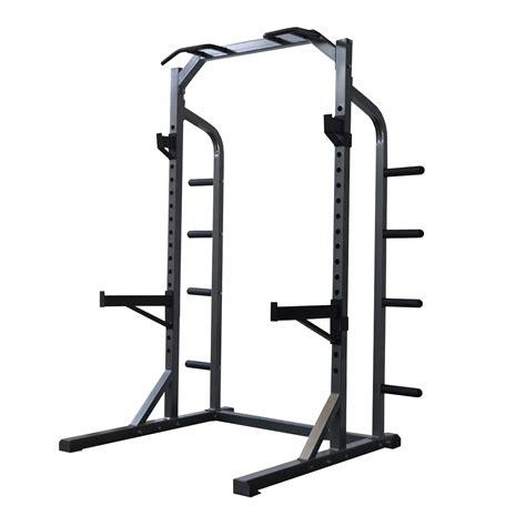Half Rack Fitness by Half Squat Power Rack Bodyworx L470rh Heavy Duty Power Half Rack Ebay