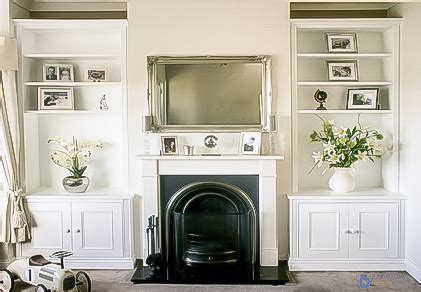 Living Room Alcove Cupboards by Built In Alcove Cupboards Storage For Your Living Room
