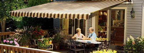 Sunsetter Awnings Rochester Ny by Semco Construction Inc Awning Installation Rochester Ny