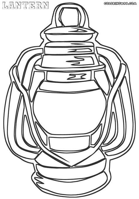 lantern coloring pages coloring pages to download and print