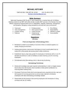 Emt Resumes by Emt Resume
