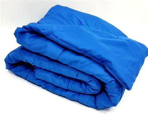 royal blue coverlet oversized down alternative comforter modern micro solid
